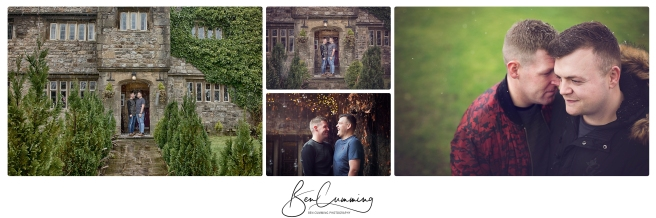 Engagement shoot Stirk House Ben Cumming Photography