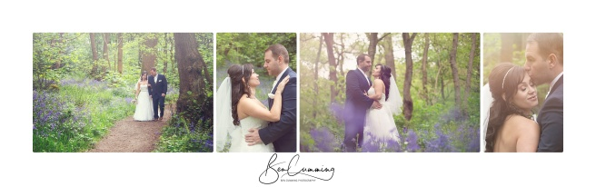 Leeds Wedding Photographer Ben Cumming Bridal Portraits Bluebells