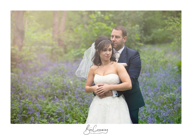 Leeds Wedding Photographer Ben Cumming Bridal Portrait Bluebells