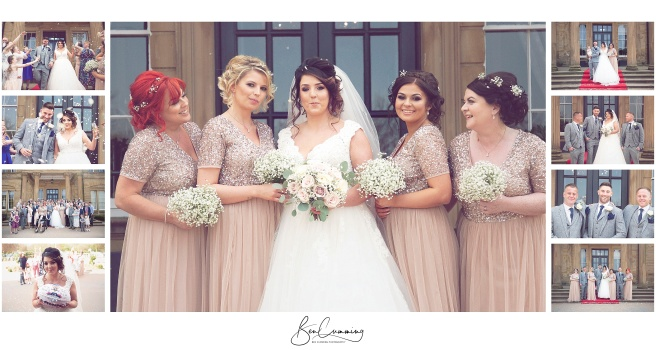 Oulton Hall West Yorkshire Wedding Photography by Ben Cumming Photography